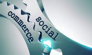 Social Commerce on the Mechanism of Metal Cogwheels.